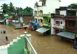 Cyclone Rain Leaves Streets of Bhajanagar Submerged in Thigh-High Water [Video]