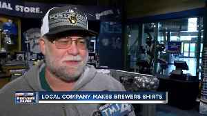 Brewers gear in high demand ahead of NLCS game 1 [Video]