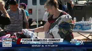 Homeless Connect event offers array of services for the homeless [Video]