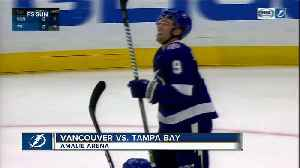 Vancouver Canucks score 4 goals in 3rd inning, beat Tampa Bay Lightning 4-1 [Video]
