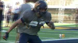 Muhammad Ali's Grandson Pursuing Football Career At Cal [Video]