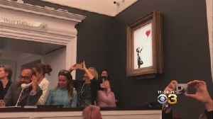 Banksy's 'Girl With Balloon' Sale Is Confirmed -- And It's Got A New Name [Video]