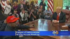 News video: Kanye West Makes Controversial White House Visit, Goes On 10-Minute Rant