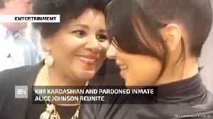 Kim Kardashian And Alice Johnson's Emotional Reunion [Video]