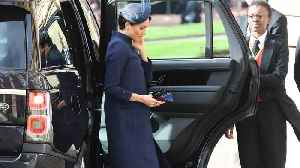 Meghan Markle's Outfit for Latest Royal Wedding Sparks Pregnancy Speculation [Video]