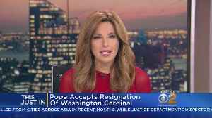 News video: Pope Accepts Resignation Of Washington Cardinal