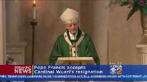 News video: Pope Accepts Cardinal Wuerl's Resignation Amid Sex Abuse Cover-Up Scandal