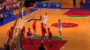 North Korea And China Hold Friendly Basketball Game In Pyongyang [Video]