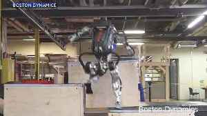 Boston Dynamics Shows Off Robot's New Skills [Video]