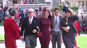 Right Now: Demi Moore arrives at Princess Eugenie's wedding [Video]