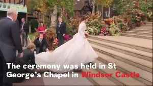 News video: Royal Wedding: Princess Eugenie And Jack Brooksbank Get Married In Windsor