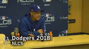 Dave Roberts talks matchups and the NLCS chess game [Video]