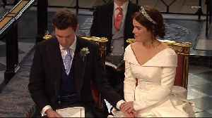 Princess Eugenie And Jack Brooksbank Wedding Highlights [Video]