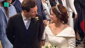 The Best Moments From Princess Eugenie's Star-Studded Wedding [Video]