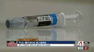 Flu cases already popping up in KC metro [Video]