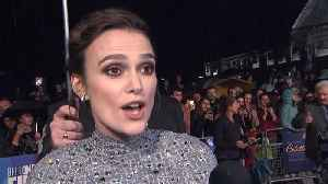 Keira Knightley Addresses Essay Controversy [Video]