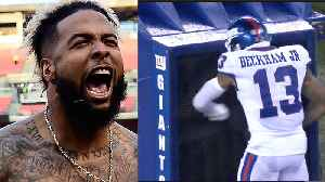 Odell Beckham Jr Meltdown: Headbuts & Punches A Fan [Video]