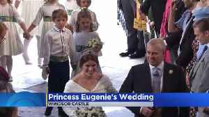 News video: Royals Gather For Princess Eugenie's Wedding