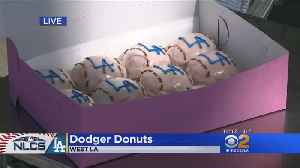 Dodger Fans Prep For NLCS Game 1 With Special Edition Doughnuts [Video]