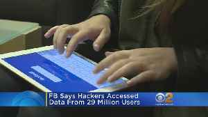 Facebook Says Number Affected By Hack Affected 29 Million Accounts [Video]