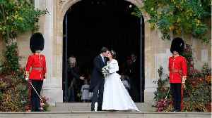 News video: Liv Tyler And Robbie Williams Attend Royal Wedding