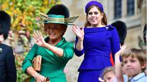 News video: It's All About Fergie's Hat At Princess Eugenie's Wedding