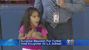 Surprise Reunion For Daughter, Military Service Father [Video]
