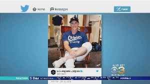 Dodgers Teammates Give Chase Utley Rocking Chair Before NLCS [Video]
