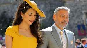 George And Amal No Shows At Princess Eugenies Wedding [Video]
