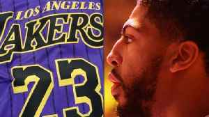 """Lakers Leak """"City Edition"""" Jerseys: Anthony Davis Signing With Lakers [Video]"""