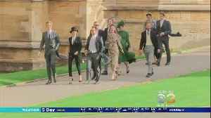 News video: Royal Family Gathers For Princess Eugenie's Wedding