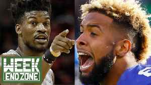 Are Odell Beckham Jr & Jimmy Butler Crazy or Passionate | WEZ [Video]