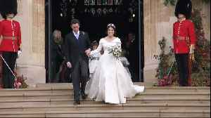 Fun Moments At Princess Eugenie's Wedding [Video]