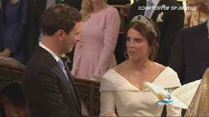 News video: Princess Eugenie Marries Jack Brooksbank
