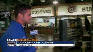 News video: Atmosphere is electric at Miller Park in anticipation of NLCS Game 1