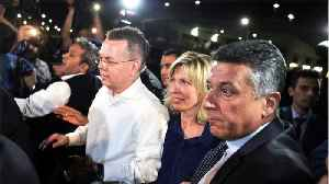 News video: U.S. Pastor Brunson Leaves Turkey After Being Released From Prison