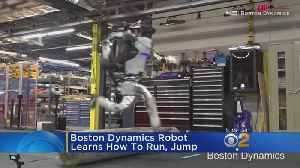 Robot Learns To Jump And Run [Video]