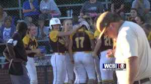 Slow-Pitch Softball Playoffs: South Pontotoc, East Union Advance [Video]