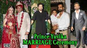 Prince- Yuvika MARRIED, Suniel, Ranvijay & others arrives in Style [Video]