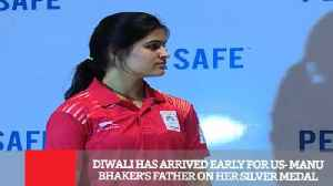 Diwali Has Arrived Early For Us  Manu Bhaker's Father On Her Silver Medal [Video]