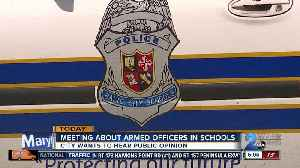 Baltimore considering arming school police officers [Video]