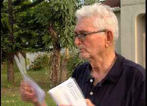 Solar company cancels contract with elderly man after salesman violates policy [Video]