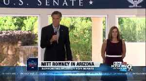McSally urges people to vote in 'dead heat' race [Video]