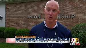 3 students hit by car at West Clermont High [Video]