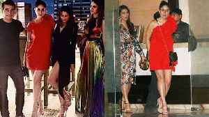 Kareena Kapoor's red look turns heads as she attends friend's birthday party | FilmiBeat [Video]