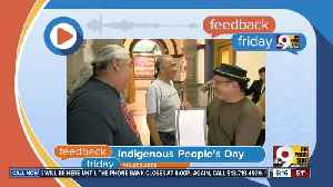 Feedback Friday: Indigenous Peoples' Day, Social Security and politicians behaving badly [Video]