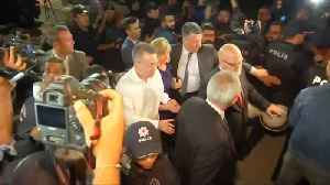 Freed U.S. pastor set to fly home from Turkey [Video]