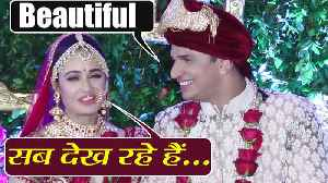 Prince Narula admires her bride Yuvika Chaudhary; watch video | filmibeat [Video]