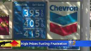 News video: High Gas Prices Fueling Frustration At The Pump