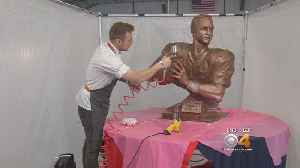 Chocolate Bust Of Peyton Manning Just $6,000 [Video]